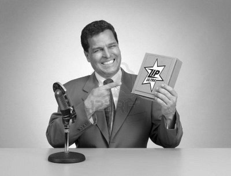 9519747-homme-de-pitch-retro-en-noir-et-blanc-des-annees-1950-ere-tv-commercial